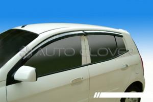 Kia Picanto 2005-2009 - Дефлекторы окон к-т 4 шт. фото, цена