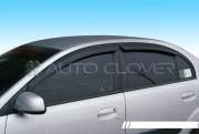 Kia Rio 2005-2010 - Дефлекторы окон (ветровики), комлект 4 шт. (Clover) фото, цена