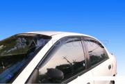 Daewoo Lanos 1997-2010 - Дефлекторы окон (ветровики), комлект. (Clover) фото, цена