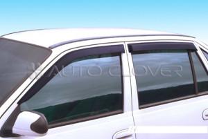 Daewoo Nexia 1996-2010 - Дефлекторы окон (ветровики), комлект. (Clover) фото, цена