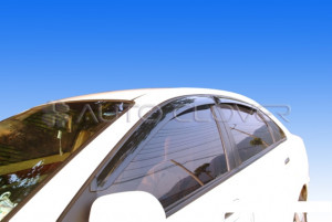 Chevrolet Lacetti 2003-2013 - Дефлекторы окон, вагон, к-т 4 шт. фото, цена