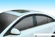 Chevrolet Cruze 2008-2013 - Дефлекторы окон (ветровики), комлект. (Clover) фото, цена