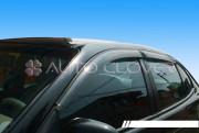 Daewoo Leganza 1997-2002 - Дефлекторы окон (ветровики), комлект. (Clover) фото, цена