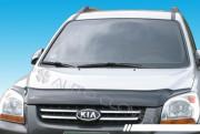 Kia Sportage 2004-2010 - Дефлектор капота. фото, цена