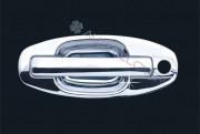 Hyundai Santa Fe 2000-2006 - Хромированные накладки на ручки. фото, цена