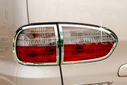 Hyundai Starex 2004-2007 - Хромированные накладки на задние фонари  к-т 4 шт. фото, цена