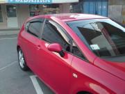 Seat Leon 2005-2013 - Дефлекторы окон к-т 4 шт. (Cobra Tuning) фото, цена