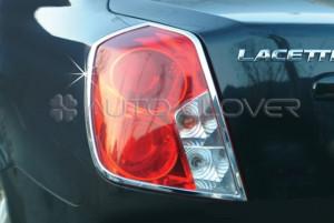 Chevrolet Lacetti 2003-2009 - (4DR/5DR) - Хромированные накладки на задние фонари. фото, цена