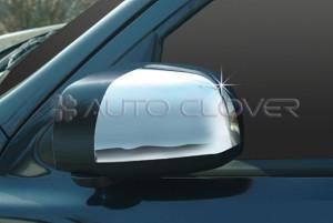 Hyundai Santa Fe 2006-2010 - Хромированные накладки на зеркала. фото, цена