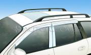 Hyundai Santa Fe 2000-2005 - Хромированные накладки на стойки  к-т 6 шт. (Пластик) фото, цена