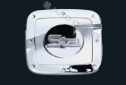 Hyundai Grand Starex 2007-2010 - Хромированная накладка на лючок бензобака. фото, цена