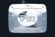 Kia Rio 2005-2010 - (4DR) - Хромированная накладка на лючок бензобака. фото, цена
