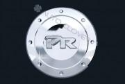 Kia Rio 2005-2010 - (5DR) - Хромированная накладка на лючок бензобака. фото, цена