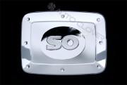 Kia Sorento 2002-2010 - Хромированная накладка на лючок бензобака. фото, цена