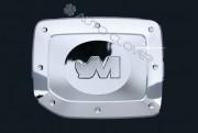Ssang Yong Musso 2004-2006 - (Musso Sports) - Хромированная накладка на лючок бензобака. фото, цена