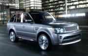 Land Rover Range Rover 2010-2011 - Хромированные накладки на стойки  к-т 8 шт. фото, цена