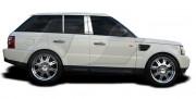 Land Rover Range Rover Sport 2005-2010 - (Sport) - Хромированные накладки на стойки  к-т 6 шт. фото, цена