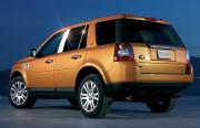 Land Rover Freelander 2006-2010 - (LR2) - Хромированные накладки на стойки  к-т 6 шт. фото, цена