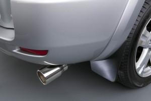 Toyota Rav 4 2005-2010 - Хром насадка на выхлопную трубу – Exhaust Tip фото, цена