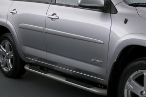 Toyota Rav 4 2005-2010 - Боковые молдинги  к-т 4 шт. фото, цена