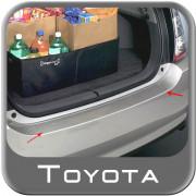 Toyota Prius 2004-2010 - Накладка на задний бампер прозрачная. фото, цена