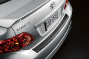 Toyota Corolla 2009-2012 - Накладка на задний бампер. фото, цена