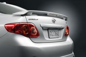 Toyota Corolla 2009-2010 - Спойлер задний с фонарем. фото, цена