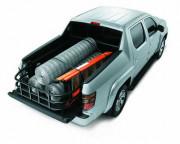 Honda Ridgeline 2006-2010 - Удлинитель кузова - Bed Extender (Алюминий). фото, цена