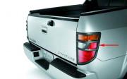 Honda Ridgeline 2006-2010 - Накладки на задние фонари  к-т 2 шт. (черный). фото, цена