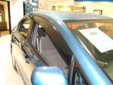 Мухобойка на капот Honda civic