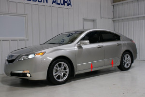Acura TL 2009-2010 - Боковые молдинги  к-т 4 шт. (Acura) фото, цена