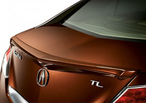 Acura TL 2009-2010 - Лип спойлер на крышку багажника. фото, цена