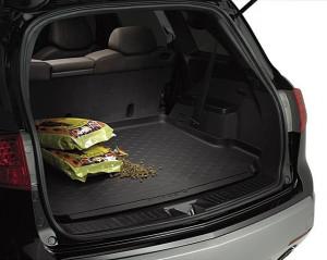 Acura MDX 2007-2010 - Резиновый коврик с бортиком в багажник. фото, цена