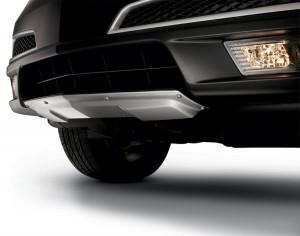 Acura MDX 2010-2012 - Накладка на передний бампер. Нержавейка. (Acura) фото, цена