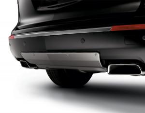 Acura MDX 2010-2012 - Накладка на задний бампер. Нержавейка. (Acura) фото, цена