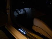 Infiniti G37 Sedan 2009-2010 - Порожки внутренние с подсветкой. (К-т 2 шт передние). фото, цена