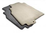 Infiniti G37 Sedan 2009-2010 - (Manual transmission) - Коврики тканевые к-т. (Цвет: чёрный/серый/бежевый). фото, цена
