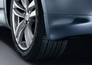 Infiniti G37 Coupe 2008-2010 - Брызговики передние  к-т 2 шт.  фото, цена