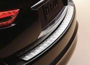 Infiniti FX 2009-2013 - Хромированная накладка на задний бампер (Infiniti) фото, цена