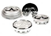 Infiniti FX 2009-2013 - Хромированные значки на колесные диски, к-т 4 шт. (Infiniti) фото, цена