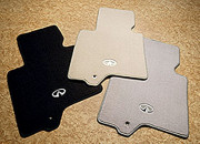 Infiniti EX 2007-2013 - Коврики тканевые к-т. (Цвет: чёрный/светло-серый/бежевый). фото, цена