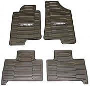 Hummer H3 2005-2010 - (H3/H3T 2008-2010) - Коврики резиновые к-т. (Цвет: коричневый). фото, цена