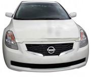 Nissan Altima 2008-2010 - Дефлектор капота хромированный. (AVS) фото, цена