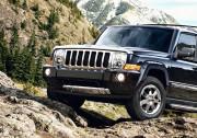 Jeep Commander 2006-2010 - Дефлектор капота хромированный. фото, цена