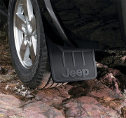Jeep Commander 2006-2010 - Брызговики задние к-т 2 шт. фото, цена