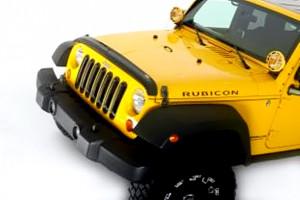 Jeep Wrangler 2007-2010 - Дефлектор капота. фото, цена