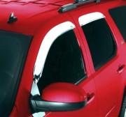 Lincoln Navigator 1998-2013 - Дефлекторы окон хромированные к-т 4 шт. (STAMPEDE) клеющиеся фото, цена