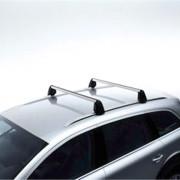 Audi Q7 2005-2009 - Рейлинги на крышу поперечные к-т 2 шт. (Цвет: серебро) фото, цена