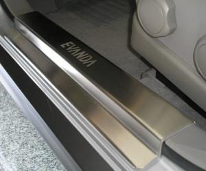 Chevrolet Evanda 2005-2010 - Порожки внутренние к-т 4 шт. (НатаНико) фото, цена