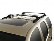 Chevrolet Suburban 2007-2010 - Поперечины под рейлинги к-т 2 шт. (Цвет: черный/хром). фото, цена